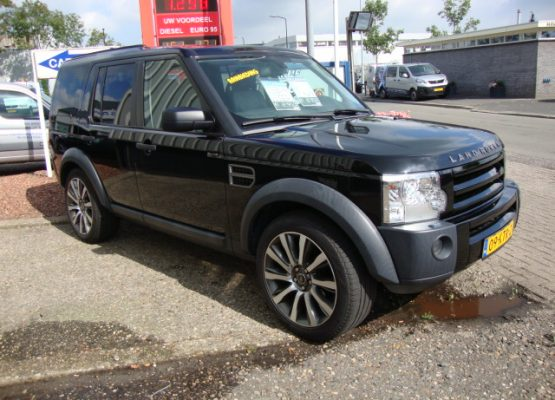 land rover discovery zwart